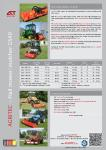 Flail Mower GS40G Product Brochure
