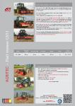 Flail Mulcher GS51 Product Brochure