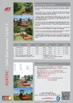 Flail Mower GS40SG-SM Product Brochure