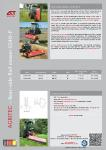 Flail Mower GS40-P Product Brochure