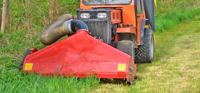 Combined mower and grass collector GA40