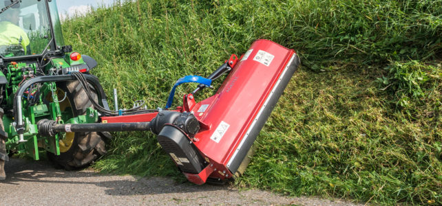 Rear and side mulcher GS41-P