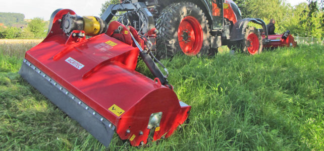Rear and side mulcher GS51-P