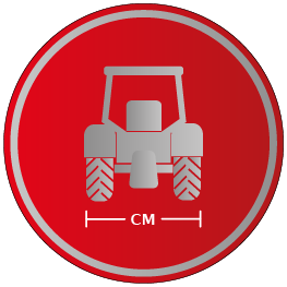 Traktorspurbreite