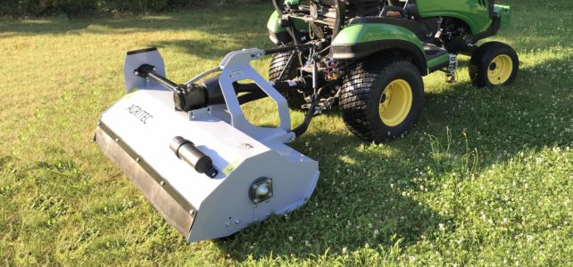 GS25 ECOline flail mower – the mower for compact and municipal tractors and other compact towing vehicles
