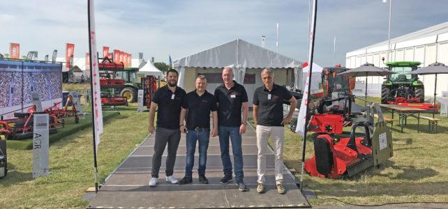 Safety first auf dem demopark-Stand von AGRITEC